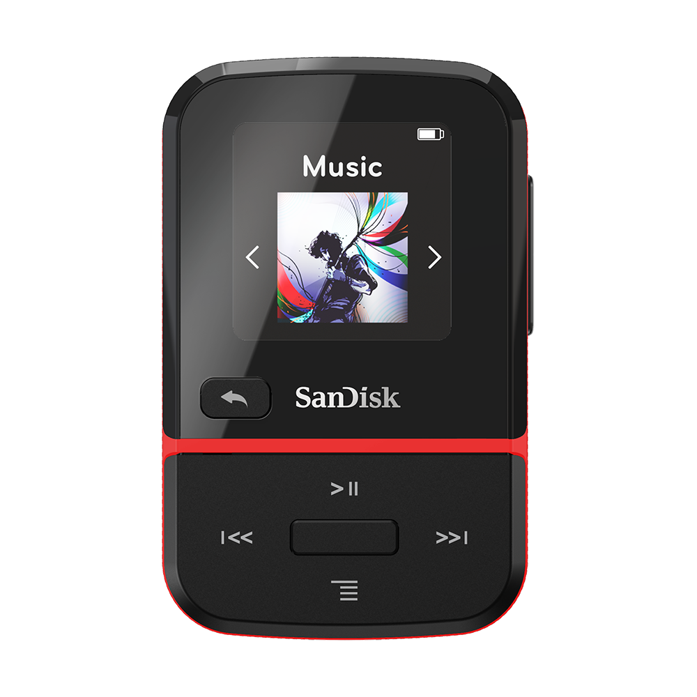 Reproductor MP3 SANDISK<sup>®</sup> CLIP SPORT GO