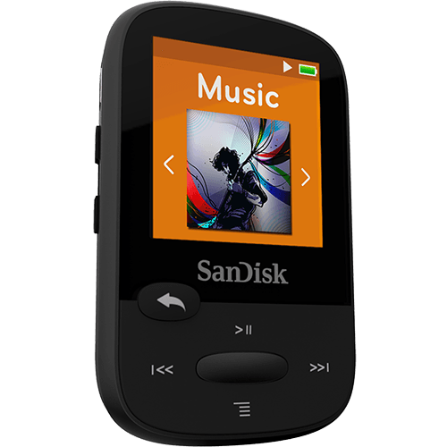 REPRODUCTOR MP3 SANDISK® CLIP SPORT